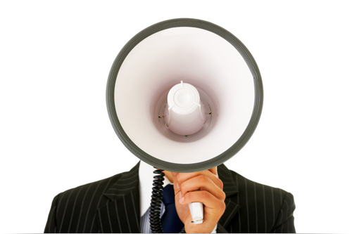 hyping-megaphone